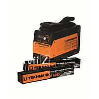 ✅ Сварочный аппарат-инвертор Tekhmann TWI-200 (842761) + 5 кг электродов