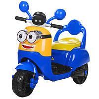 Мотоцикл M 3562 BR  р/у2,4G,2мотора 25W,аккум 6V/7A,MP3,USB,инд.бат,DM
