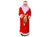 Дед Мороз танцует, музыка, 120 см, от сети