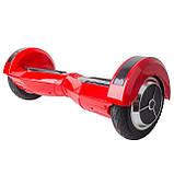 "Гироборд-скутер электрический 4400 мАч, колеса 8"" Red INTERTOOL SS-0801, фото 2"