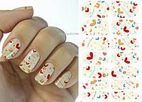 Наклейки для дизайна ногтей № 26, фото 1