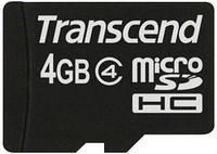Карта памяти Transcend 4GB Class 4