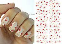 Наклейки для дизайна ногтей № 24, фото 1