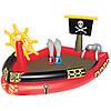 BW Бассейн 53041 (4шт) Пиратский корабль,190-140-96см,руль,мечи,ремком,в кор-ке,