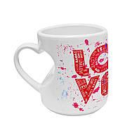 """Авторская чашка """"LOVE"""""""