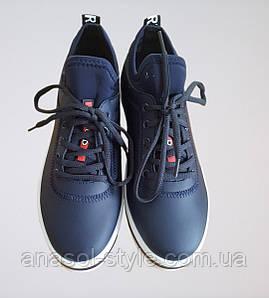 Кроссовки женские  LB  синие