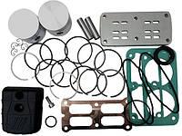 Рем. комплект для компрессора AB500-912-380 (фильтр, клапанная плита, н-р прокладок, н-р поршней HP и LP
