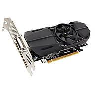 Видеокарта GeForce GTX1050Ti OC, Gigabyte, 4Gb DDR5, 128-bit, DVI/2xHDMI/DP, 1442/7008 MHz, Low Profile (GV-N105TOC-4GL)