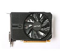 Видеокарта GeForce GTX1050Ti, Zotac, Mini, 4Gb DDR5, 128-bit, DVI/HDMI/DP, 1417/7000 MHz (ZT-P10510A-10L)