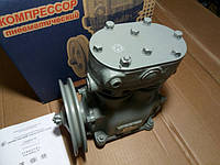 Компрессор 2-цилиндровый МАЗ, К-701, Т 150, КРАЗ повыш. производ.  (со шкивом) (пр-во БЗА) 5336-3509012-10