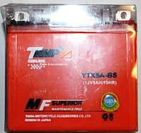 Аккумулятор 12v5a.h. Оранжевый ( размер JAWA )