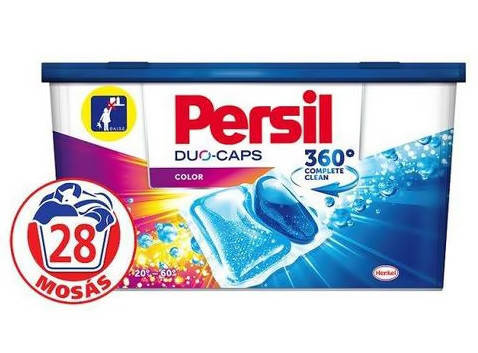 Капсули для прання кольорового одягу Persil  Duo Caps Color 28 шт , фото 2