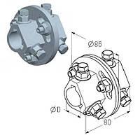 Муфта соединительная AC для вала ворот ролет гаражных и промышленных Alutech