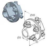 Муфта сполучна AC для вала воріт, ролет гаражних і промислових Alutech, фото 1