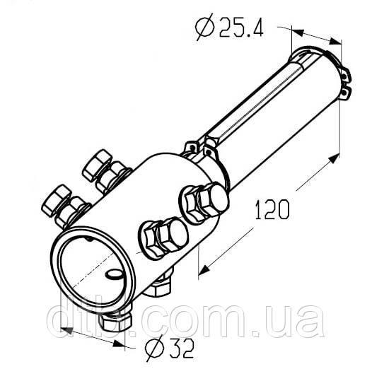 Адаптер для вала 32 мм