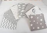 Набор из 2-х фланелевых пеленок 80*100см, пеленка фланелевая для новорожденного хлопковая, пеленки мягкие, фото 3