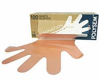 Перчатки для ректально-вагинальных исследований Polysem