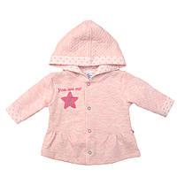 Куртка арт: 179212. Размер 62, 68. цвета: розовый и молочный., фото 1
