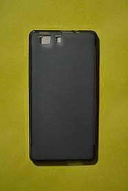 TPU Силикон Doogee X5 Gray (дымчато-серый)