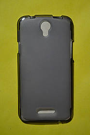 TPU Силикон Doogee X6 Gray (дымчато-серый)
