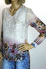 шифонова блузка-туніка  Gold, фото 2