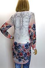 шифонова блузка-туніка  Gold, фото 3