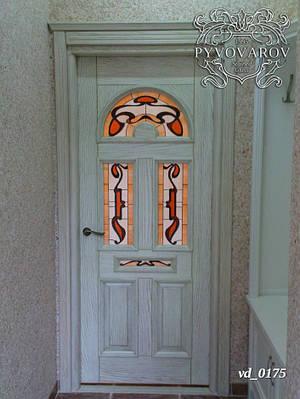 Витраж готика в межкомнатные двери