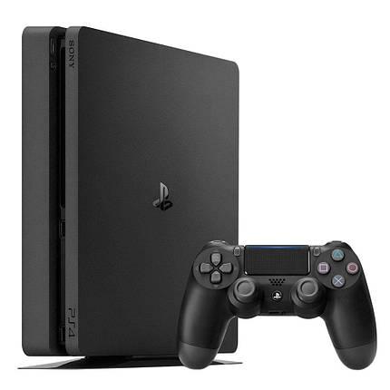 Игровая приставка SONY Playstation 4 Slim 1Tb Black (+FIFA 18), фото 2
