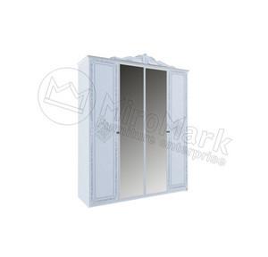 шкаф Луиза 4Д Люкс с зеркалом