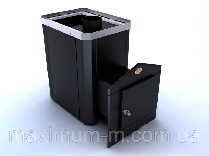 """Печь-каменка """" Классик"""" ПКС - 04 (модель Ч)  с выносным топливным каналом"""