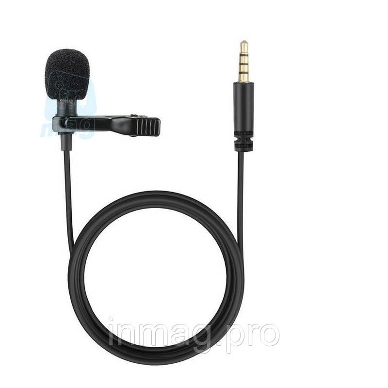 Петличный микрофон (петличка) Longin, 1,5м шнур.