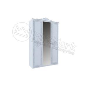 шкаф Луиза 3Д  Люкс  с зеркалом