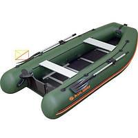 Надувная моторная килевая 5-ти местная лодка ПВХ Kolibri КМ-360DSL