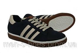Спортивные туфли кроссовки кеды кожаные Konors  для подростков