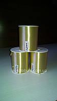 Лента бронзовая, тесьма для шариков - 5 мм, 400м