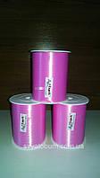 Лента розовая, тесьма для шариков - 5 мм, 400м