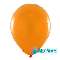 """Шары 10"""" 26 см пастель оранжевый"""