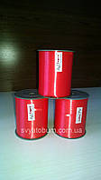Лента красная, тесьма для шариков - 5 мм, 400м