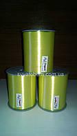 Лента желтая, тесьма для шариков - 5 мм, 400м