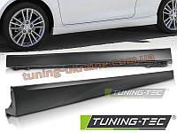 Накладки на пороги для Suzuki Swift 2010-2017 Sport стиль, фото 1