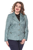 Классическая демисезонная куртка пиджак больших размеров 50-60 батал