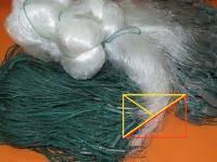 Сеть рыболовная грузики в шнуре 1.8х100м Ø 70 мм