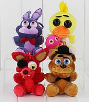 Мягкая плюшевая игрушка 5 ночей с Фредди Аниматроники. Фнаф, фото 1