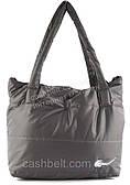 Спортивная стильная оригинальная женская сумка  art. 2 (101669) светло серая