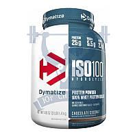 Dymatize ISO 100 протеин сывороточный изолят 1,3кг спортивное питание