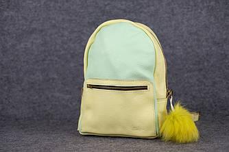 Женский рюкзак | 20122 | салатовый+желтый