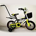"""Детский Велосипед c родительской ручкой от 3 лет """"HAMMER-12"""" S600, фото 3"""