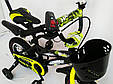 """Детский Велосипед c родительской ручкой от 3 лет """"HAMMER-12"""" S600, фото 4"""
