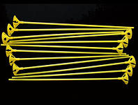 Палочки+Насадки желтые 1 уп.-100 шт