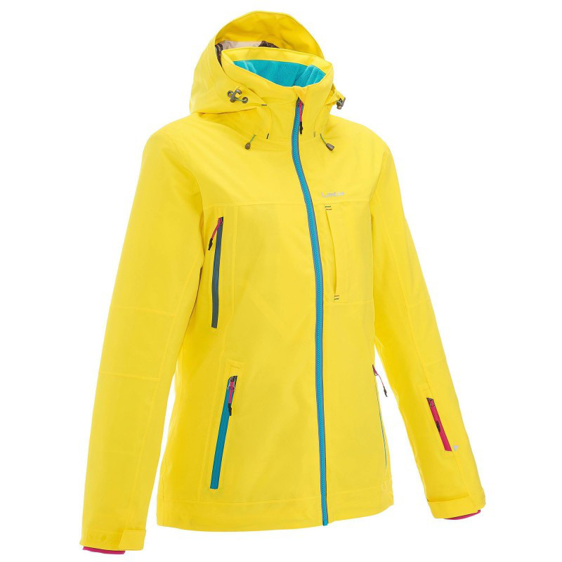 b7c1a25c1308 WED ZE Сноуборд-куртка женская FREE 500 желтая - Интернет магазин HYPE в  Луцке